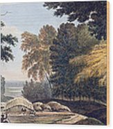 Hill Village In The District Of Bauhelepoor Wood Print
