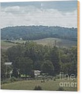 Hills In Tennessee Wood Print