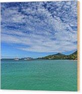 Hillsborough Bay, Carriacou Wood Print