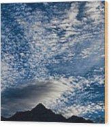 Himalayan Skies Wood Print