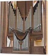 Himmerod Abbey Organ Wood Print