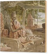 Hindu Fakir, From India Ancient Wood Print