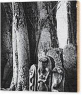 Hindu Shrine Wood Print