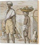 Hindu Valet Or Buyer Of Food, From The Wood Print