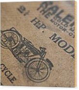 Hints On A Raleigh Wood Print