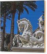 Hippocampus At Caesars Palace Wood Print