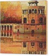 Hiran Minar Wood Print