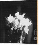 His Flowers Mean Nothing Wood Print