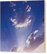 His Glory 2 Wood Print
