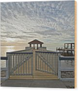 His Mercies Begin Fresh Each Morning Wood Print by Bonnie Barry