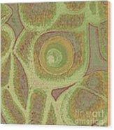 His Navel Australian Aboriginal Wood Print