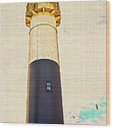 Historic Absecon Lighthouse Wood Print
