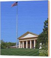 Historic Arlington House Wood Print
