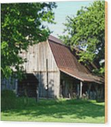 Historic Barn Wood Print