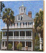 Historic Battery Home Wood Print