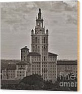 Historic Biltmore Hotel Wood Print