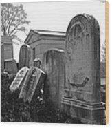 Historic Cemetery Wood Print
