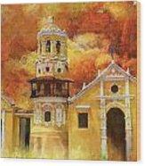 Historic Center Of Santa Cruz De Mompox Wood Print