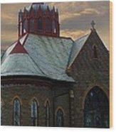 Historic Church Wood Print