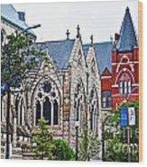Historic Churches St. Louis Mo 1 Wood Print