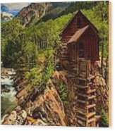 Historic Colorado Wood Print