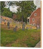 Historic Concord Wood Print