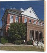 Historic Currituck Courthouse Wood Print