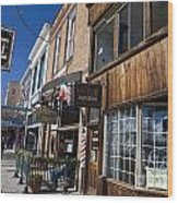 Historic Downtown Truckee California Wood Print