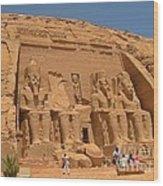 Historic Egypt Wood Print