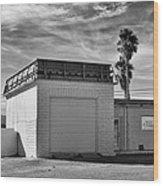 Historic Estrella Gas Station Desert Hot Springs Wood Print