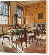 Historic Governor Council Chamber Wood Print by Olivier Le Queinec