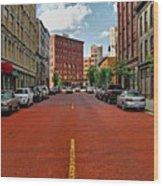 Historic Grand Rapids Michigan Wood Print