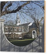Historic Nantucket Church Wood Print