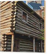 Historic Nashville Wood Print