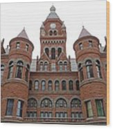 Historic Old Red Courthouse Dallas #1 Wood Print