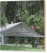 Historic Overstreet Homestead Kissimmee Florida Wood Print