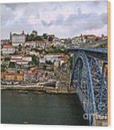 Historic Porto Wood Print
