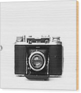 Historic Rangefinder Cameras Wood Print