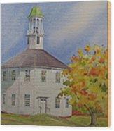 Historic Richmond Round Church Wood Print