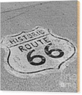 Historic Route 66 Wood Print