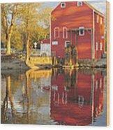 Historic Smithville Shop New Jersey Wood Print