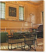 Historic Supreme Court Wood Print by Olivier Le Queinec