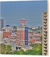 Historic Western Auto Building Kansas City  Missouri Wood Print