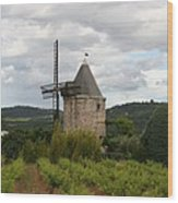 Historic Windmill Wood Print