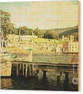 Historical Waters Wood Print