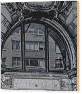 Historical Window Detail Wood Print