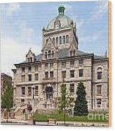 History Center Lexington Kentucky Wood Print