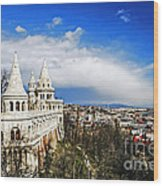 History Of Budapest Wood Print