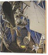 History Of Flight Wood Print by Akos Kozari