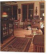 History Of Modern America Wood Print
